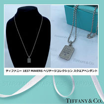 [Tiffany] 1837 Makers Heritage Collection スクエアペンダント