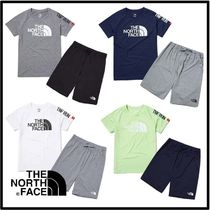 THE NORTH FACE★K'S SUN FREE BIG LOGO LOUNGE SET_NT7UL15