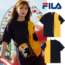 ◆日本未入荷◆FILA◆HALF COLOR BLOCK T-SHIRTS◆大人気◆