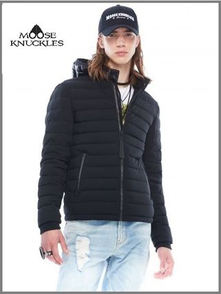 MOOSE KNUCKLES ジャケットその他 [MOOSE KNUCKLES]異素材フードがアクセント★POINT RIDER JACKET