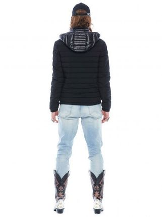 MOOSE KNUCKLES ジャケットその他 [MOOSE KNUCKLES]異素材フードがアクセント★POINT RIDER JACKET(2)
