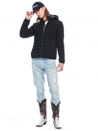 MOOSE KNUCKLES ジャケットその他 [MOOSE KNUCKLES]異素材フードがアクセント★POINT RIDER JACKET(5)