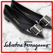 ☆イベント/関税込☆ SALVATORE FERRAGAMO☆FLAT SHOES☆