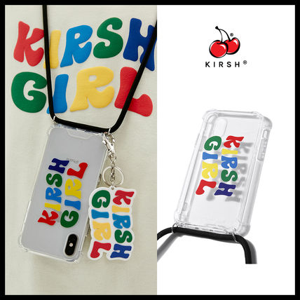 KIRSH スマホケース・テックアクセサリー 20SS【KIRSH】★RAINBOW KIRSH GIRL STRING IPHONE CASE JS★