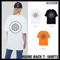 ACOVER(オコボ) Tシャツ・カットソー [ACOVER] ROUND BACK T-SHIRTS★韓国の人気★日本未入荷