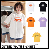 ACOVER(オコボ) Tシャツ・カットソー [ACOVER] CUTTING YOUTH T-SHIRTS★韓国の人気★日本未入荷