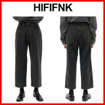 ★韓国の人気★【HI FI FNK】★Holly Black Denim★