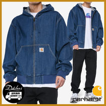 CARHARTT WIP OG ACTIVE JACKET DENIM AI60 追跡付