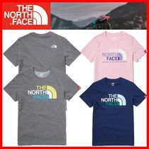 ★THE NORTH FACE★K'S MULTI COLOR BIG LOGO EX S/S R/TEE★3色