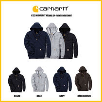 ◆CARHARTT◆ K122 MIDWEIGHT HOODED ZIP-UP (全4色)