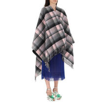 GUCCI Embroidered Wool Cape