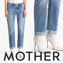 Motherマザー★The Scrapper Cuff Ankle Frayクロップドデニム