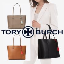 新作★Tory Burc★ Perry Triple Compartment トートバッグ