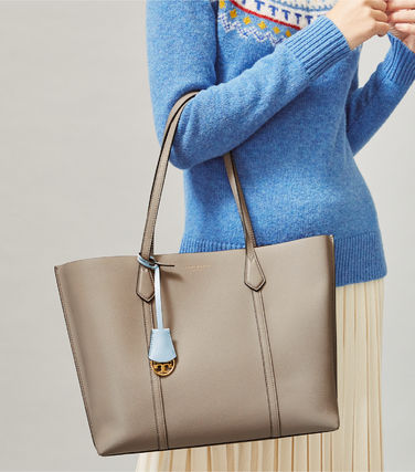 Tory Burch トートバッグ 新作★Tory Burc★ Perry Triple Compartment トートバッグ(9)