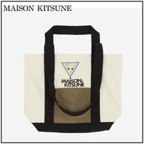 【MAISON KITSUNE】 RAINBOW TRIANGLE FOX small バッグ
