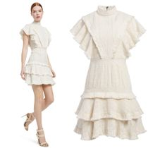 短期SALE★Alice+Olivia★BEA RUFFLE MINI DRESS