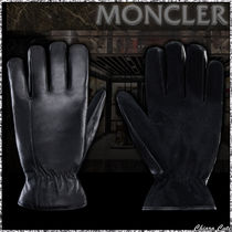 【19AW NEW】MONCLER _ men / GUANTI ラムレザー グローブ / 1色