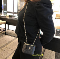 VANITY POUCH チェーンポシェット シャネル 国内発送 2020SS