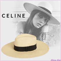 【20SS NEW】CELINE_women / STRAW PANAMA 爽やかストローハット