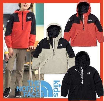 THE NORTH FACE(ザノースフェイス) キッズアウター ★人気★【THE NORTH FACE】★K'S NEW MOUNTAIN ANORAK★3色★