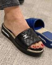 大活躍間違いなし2020 Act.2 CHANEL★★CC Quilted sandal
