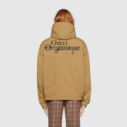 GUCCI ジャケットその他 ◇GUCCI◇~★Reversible jacket with Gucci Orgasmique★(6)