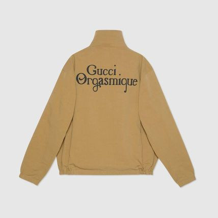 GUCCI ジャケットその他 ◇GUCCI◇~★Reversible jacket with Gucci Orgasmique★(8)