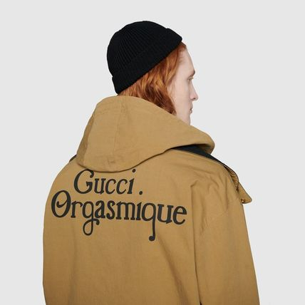 GUCCI ジャケットその他 ◇GUCCI◇~★Reversible jacket with Gucci Orgasmique★(10)