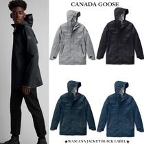 【CANADA GOOSE】WASCANA JACKET BLACK LABEL ブラックラベル