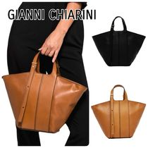【GIANNI CHIARINI】DILETTA Small トートバック 2色