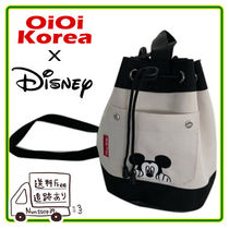 【OiOixDisney】POCKET BUCKET CROSS BAG  全3色
