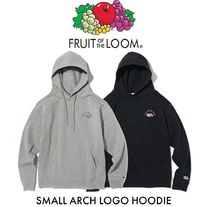 【FRUIT OF THE LOOM】SMALL ARCH LOGO フーディ 2色 男女兼用★