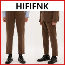 ★韓国の人気★【HI FI FNK】★Cropped Woolen Trousers★
