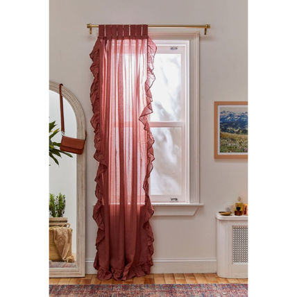 Urban Outfitters カーテン 【国内発送】◇UO◇Ruffle Gauze Curtain 5色(3)