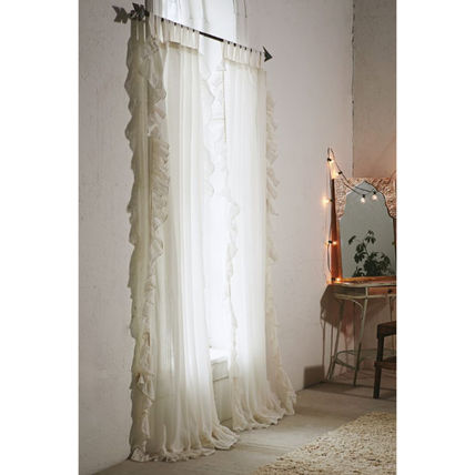 Urban Outfitters カーテン 【国内発送】◇UO◇Ruffle Gauze Curtain 5色