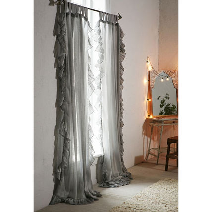 Urban Outfitters カーテン 【国内発送】◇UO◇Ruffle Gauze Curtain 5色(2)