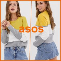 ASOS★New Look★ニット/ block colour jumper in yellow