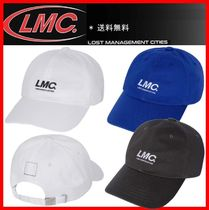 ☆韓国の人気☆【LMC】☆ITALIC ASSOCIATION 6 PANEL CAP☆3色☆