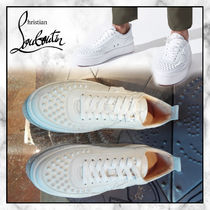 ◆Christian Louboutin 20SS最新作◆ロゴ入りスニーカー◆WHITE