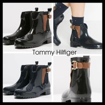 【Tommy Hilfiger】BUCKLED ANKLE WELLIES レインブーツ 2色