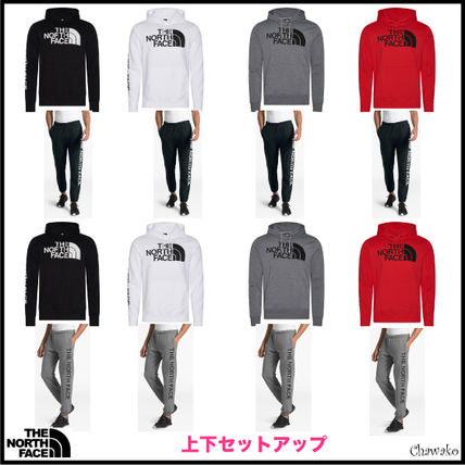 THE NORTH FACE セットアップ 海外限定【The North Face】The North Face袖ロゴセットアップ★