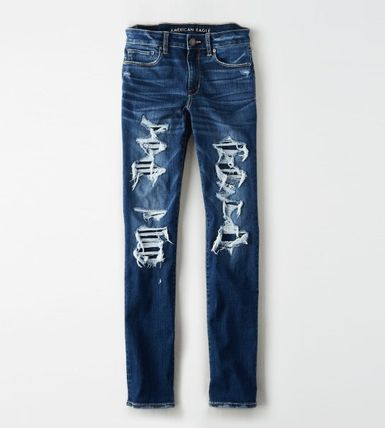 American Eagle Outfitters デニム・ジーパン ★関税込★American Eagle★Denim skinny-fit dystroy pants(5)