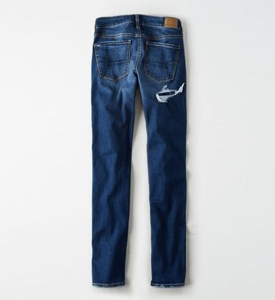 American Eagle Outfitters デニム・ジーパン ★関税込★American Eagle★Denim skinny-fit dystroy pants(6)