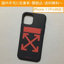 OFF-WHITE RED ARROW iPhone case