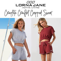 【LORNA JANE】COMPLETE COMFORT CROPPED SWEAT トップス