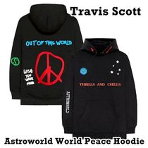 Travis Scott Astroworld World Peace Hoodie Black FW 18