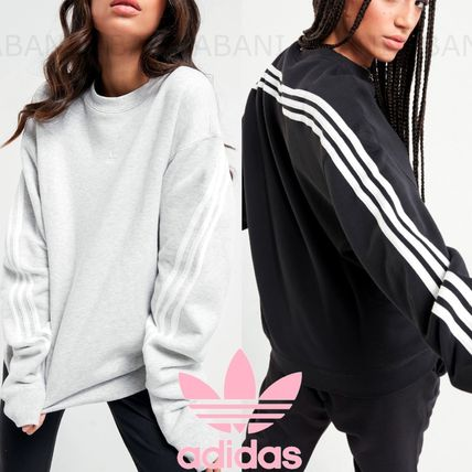 国内発☆adidas Originals★3 Stripe Wrap Crew Sweat★Men's