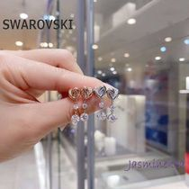 ★新作♪★2色SWAROVSKI Lifelong Heart ピアス★