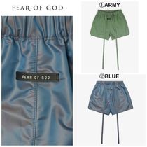 【FEAR OF GOD】☆最新作☆ MILITARY PHYSICAL TRAINING SHORT