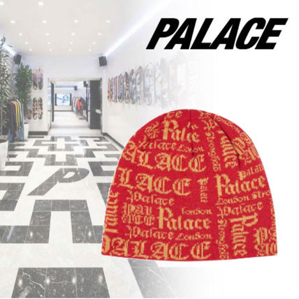 Palace Skateboards ニットキャップ・ビーニー 20SS◆NEW◆完売必須◆Palace Skateboards◆OLD P BEANIE